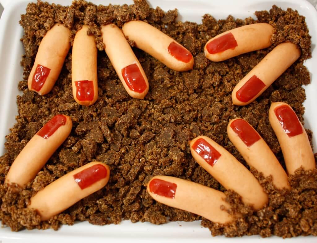 halloween-buffet-rezepte-wurstfinger
